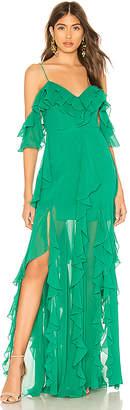 Nicholas x REVOLVE Georgette Cascade Maxi Dress