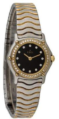 Ebel Sport Classic Mini Two-tone Diamond Watch