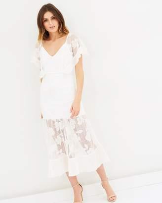 Stevie May Ruby May Flounce Midi Dress