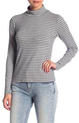 Socialite Mock Neck Long Sleeve Tee