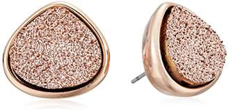 Kenneth Cole New York Supercharged Collection Women's Druzy Stud Earrings