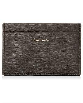 Paul Smith Straw Grain Credit Card Holder