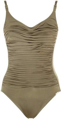 Maryan Mehlhorn Ruched Swimsuit