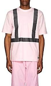 "U.P.W.W. Men's ""Crisis"" Cotton T-Shirt - Pink"