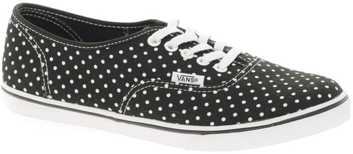 Vans Lo Pro Polka Dot Lace Up Trainers