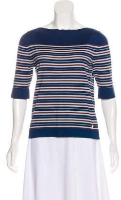 Louis Vuitton Striped Knit Top
