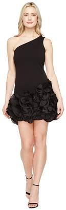 Jessica Simpson One Shoulder Ruffle Hem Dress Women's Dress