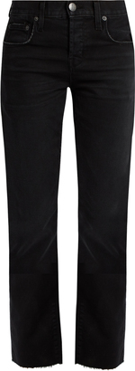 CURRENT/ELLIOTT The Crossover boyfriend jeans $271 thestylecure.com