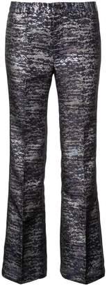 Cynthia Rowley Stella brocade flared trousers