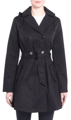 Women's Laundry By Shelli Segal Fit & Flare Trench Coat $198 thestylecure.com