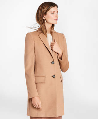 Brooks Brothers Camel Hair Car Coat