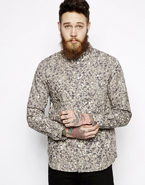 Wood Wood Paradinski Shirt in All Over Print