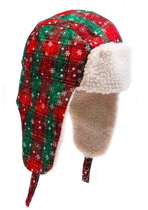 Collection XIIX Plaid Faux fur Trapper Hat