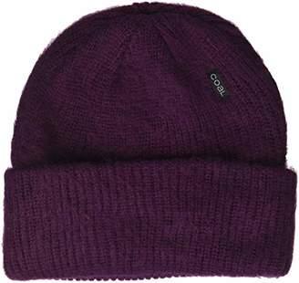 Coal Men's The Scotty Rib Knit Distressed Beanie Hat