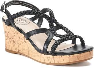 So SO Lion Tamer Girls' Wedge Sandals
