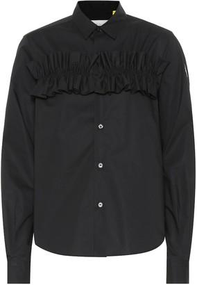 Noir Kei Ninomiya Moncler Genius 6 MONCLER cotton shirt