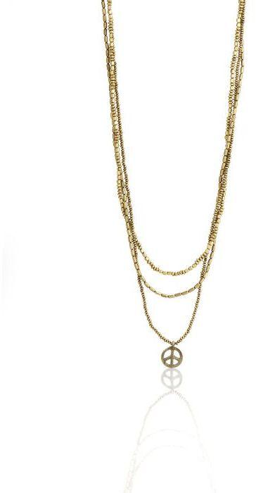 Three Strand Gold Necklace