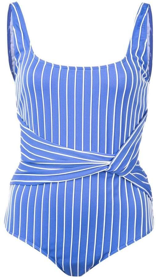 striped tank swimsuit