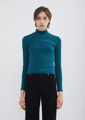 Eckhaus Latta Lapped Baby Turtleneck