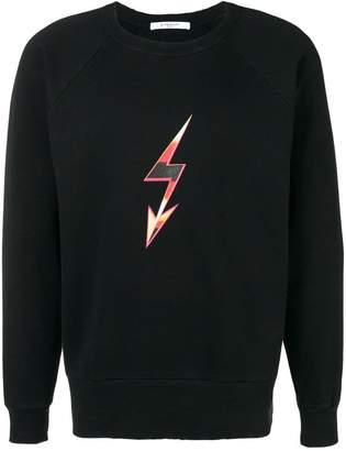 Givenchy lightning bolt arrow sweatshirt