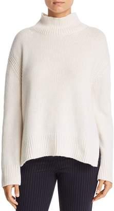 Majestic Filatures Cashmere Oversized Mock-Neck Sweater