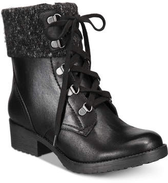 Bare Traps Baretraps Orley Lace-Up Booties Women's Shoes