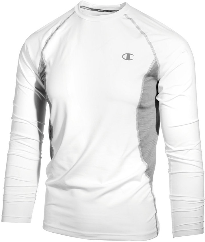 Champion Men's Long-Sleeve Compression T-Shirt