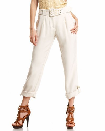 D Ring Tabbed Silk Roll Pant