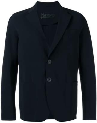Herno single patch pocket blazer