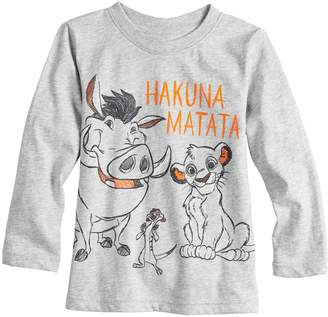 Simba Disneyjumping Beans Disney's The Lion King Toddler Boy Timon, & Pumba Graphic Tee by Jumping Beans