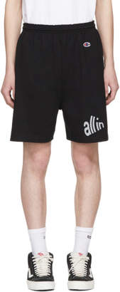 all in Black Signal Shorts