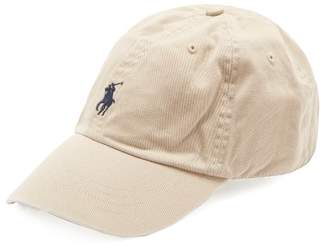Polo Ralph Lauren Logo Embroidered Cotton Cap - Mens - Beige