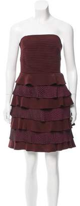 Robert Rodriguez Strapless Cocktail Dress