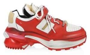 Maison Margiela Artisanal Leather Chunky Sneakers