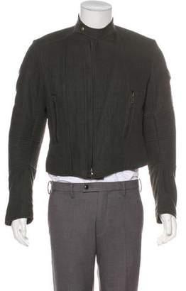 Haider Ackermann Linen Biker Jacket