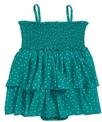 Bardot Junior Stace Smocked Polka Dot Dress