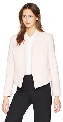 Nine West Women's BI Stretch Open Shawl Collar Jacket