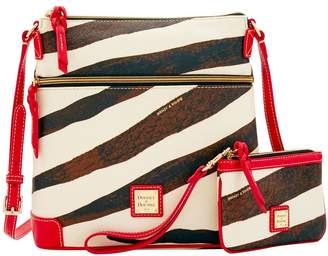 Dooney & Bourke Serengeti Crossbody & Medium Wristlet