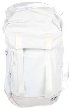 500458049913 Visvim 25L Snow White Leather Accented Backpack w  Tags