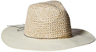Collection XIIX Women's Mixed-Media Panama Hat $24 thestylecure.com