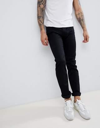 BOSS Delaware Slim Jean in Black