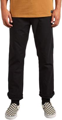 Volcom Gritter Modern Fit Straight Leg Chino Pants