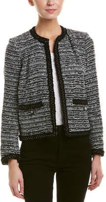 The Kooples Tweed Wool-Blend Blazer