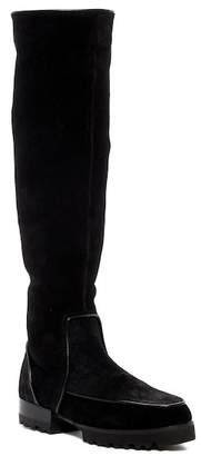 Donald J Pliner Eva Suede Lug High Boot