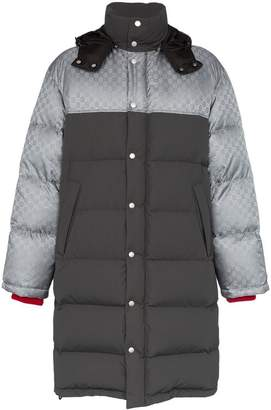 Gucci padded feather down coat