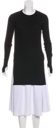 Helmut Lang Rib Knit Tunic