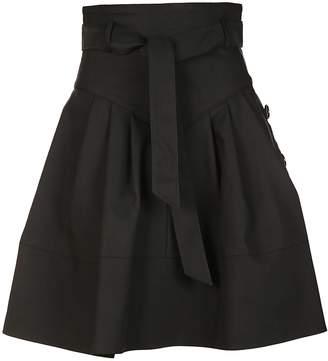 Miu Miu Flared High-waist Skirt