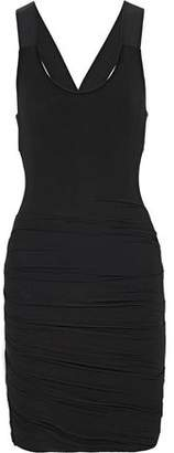 Bailey 44 Orei Ruched Stretch-Jersey Dress