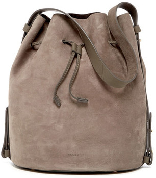 Skagen Mette Leather Bucket Bag $445 thestylecure.com
