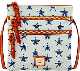 Dooney & Bourke NFL Cowboys Triple ZipCrossbody